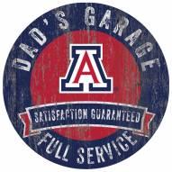 Arizona Wildcats Dad's Garage Sign