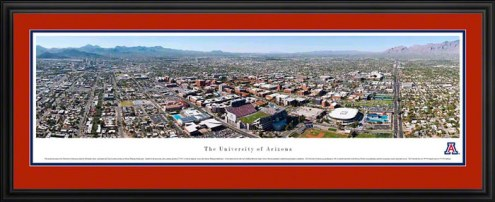 Arizona Wildcats Deluxe Framed Panorama