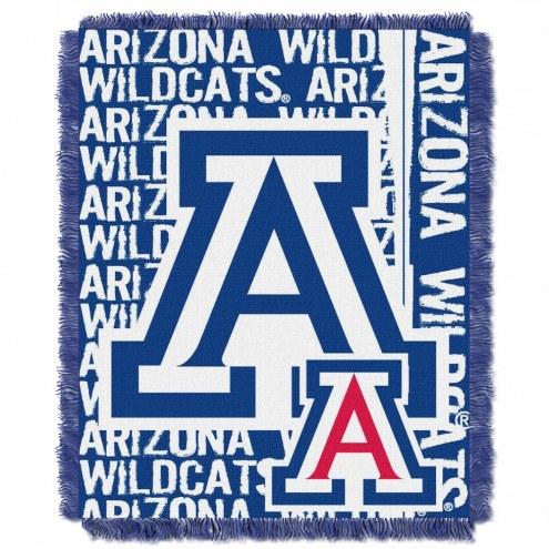 Arizona Wildcats Double Play Woven Throw Blanket