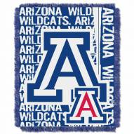 Arizona Wildcats Double Play Woven Throw Blanket