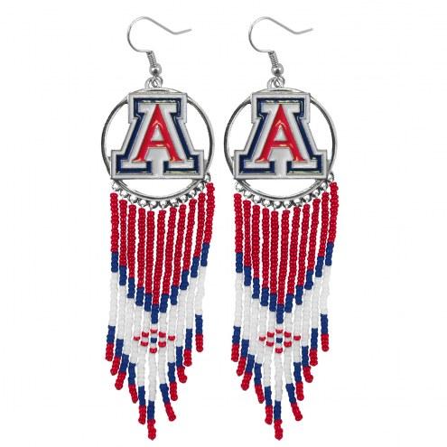 Arizona Wildcats Dreamcatcher Earrings