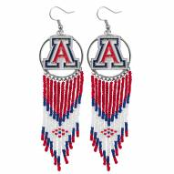 Arizona Wildcats Dreamcatcher Earrings
