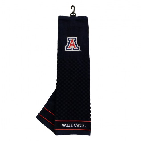 Arizona Wildcats Embroidered Golf Towel