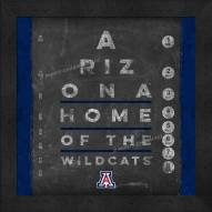 Arizona Wildcats Eye Chart