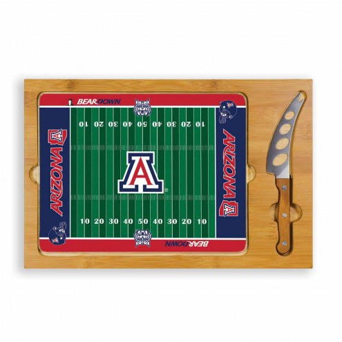 Arizona Wildcats Football Icon Cutting Board