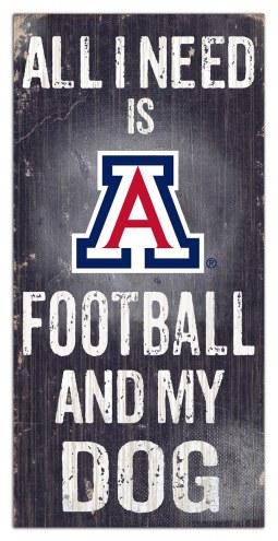 Arizona Wildcats Football & My Dog Sign