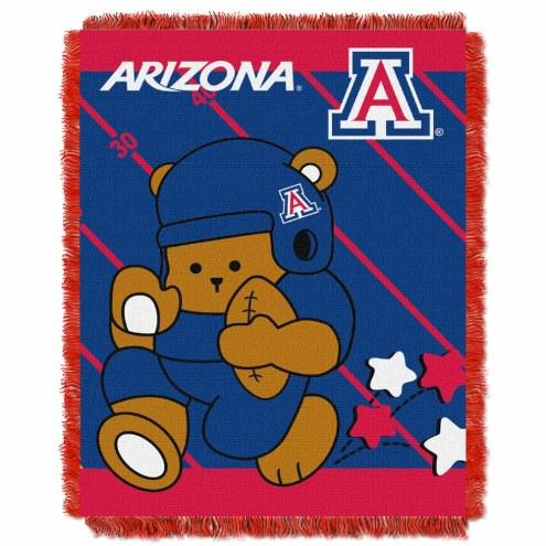 Arizona Wildcats Fullback Baby Blanket