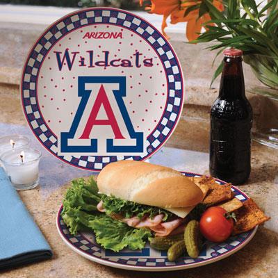 Arizona Wildcats Gameday Ceramic Plate