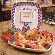Arizona Wildcats Gameday Chip N Dip Dish