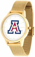 Arizona Wildcats Gold Mesh Statement Watch