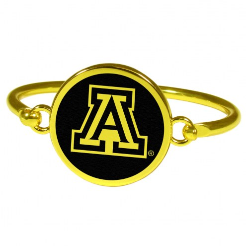 Arizona Wildcats Gold Tone Bangle Bracelet