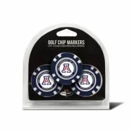 Arizona Wildcats Golf Chip Ball Markers