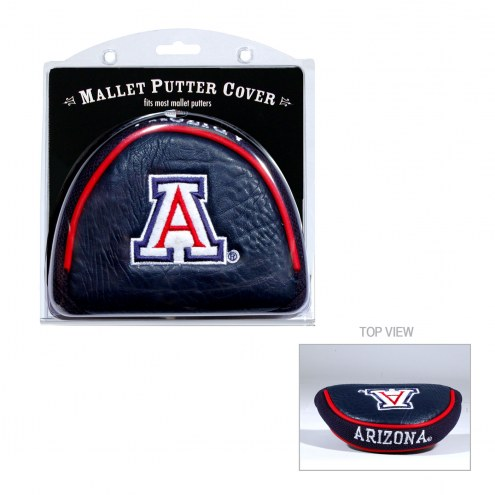 Arizona Wildcats Golf Mallet Putter Cover