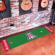 Arizona Wildcats Golf Putting Green Mat