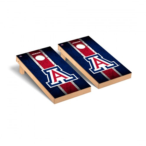 Arizona Wildcats Grunge Cornhole Game Set