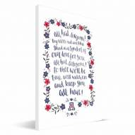 Arizona Wildcats Hand-Painted Song Canvas Print