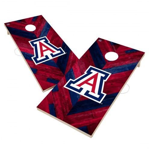 Arizona Wildcats Herringbone Cornhole Game Set
