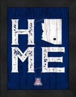 Arizona Wildcats Home Away From Home Wall Decor