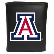 Arizona Wildcats Large Logo Leather Tri-fold Wallet