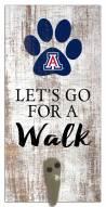 Arizona Wildcats Leash Holder Sign