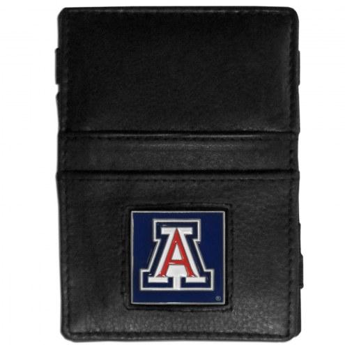 Arizona Wildcats Leather Jacob's Ladder Wallet