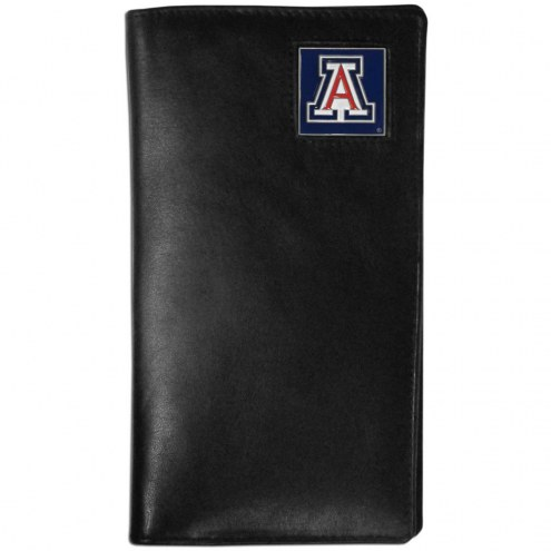 Arizona Wildcats Leather Tall Wallet