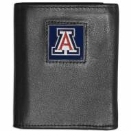 Arizona Wildcats Leather Tri-fold Wallet