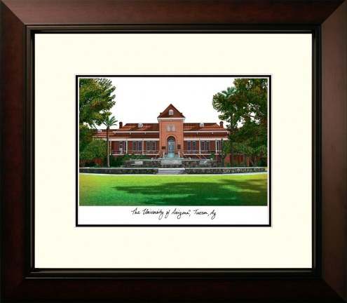 Arizona Wildcats Legacy Alumnus Framed Lithograph
