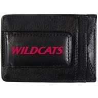 Arizona Wildcats Logo Leather Cash and Cardholder