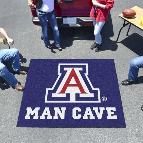Arizona Wildcats Man Cave Tailgate Mat