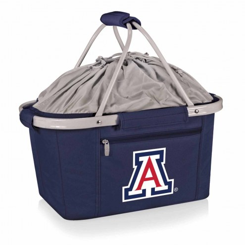 Arizona Wildcats Navy Metro Picnic Basket