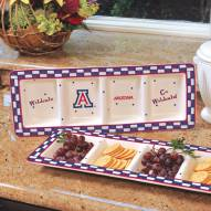 Arizona Wildcats NCAA Ceramic Relish Tray