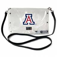 Arizona Wildcats Clear Envelope Purse