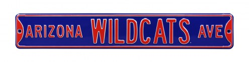 Arizona Wildcats NCAA Embossed Street Sign