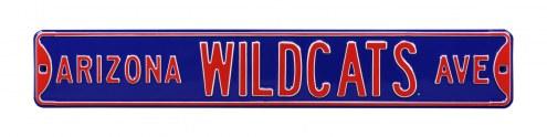 Arizona Wildcats NCAA Embossed Street Sign