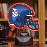 Arizona Wildcats Neon Helmet Desk Lamp