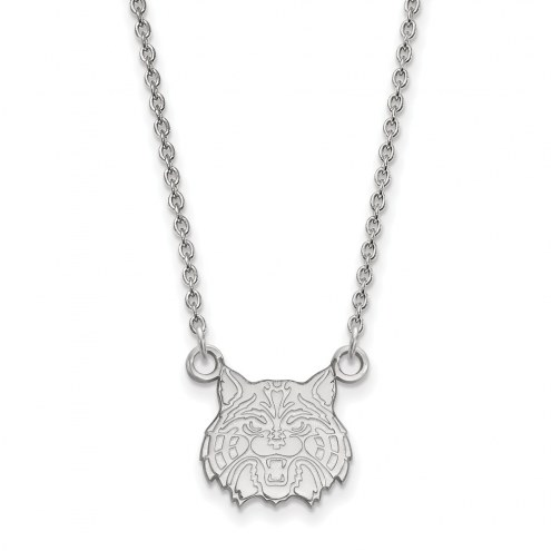 Arizona Wildcats NCAA Sterling Silver Small Pendant Necklace
