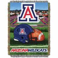 Arizona Wildcats NCAA Woven Tapestry Throw Blanket