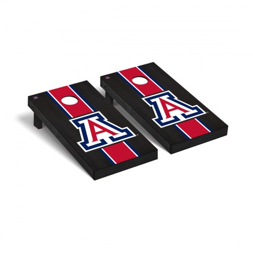 Arizona Wildcats Onyx Stained A Cornhole Game Set