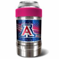 Arizona Wildcats Pink 12 oz. Locker Vacuum Insulated Can Holder