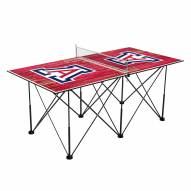 Arizona Wildcats Pop Up 6' Ping Pong Table