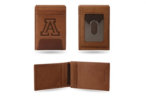 Arizona Wildcats Premium Leather Front Pocket Wallet
