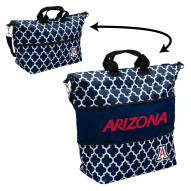 Arizona Wildcats Quatrefoil Expandable Tote