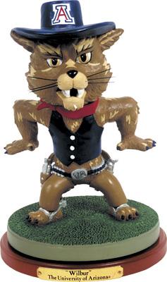 Arizona Wildcats Collectible Mascot Figurine