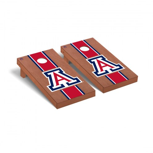 Arizona Wildcats Rosewood Stained A Cornhole Game Set