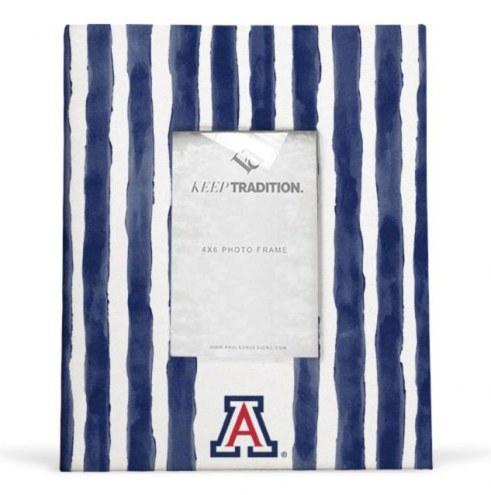 Arizona Wildcats School Stripes Picture Frame