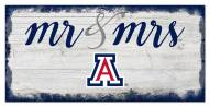 Arizona Wildcats Script Mr. & Mrs. Sign