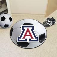 Arizona Wildcats Soccer Ball Mat