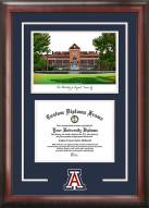 Arizona Wildcats Spirit Diploma Frame with Campus Image