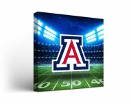 Arizona Wildcats Stadium Canvas Wall Art